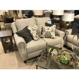 Key Largo Double Reclining Power Loveseat with Pillows