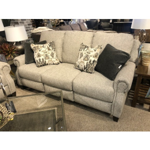 Key Largo Double Reclining Power Sofa with Pillows