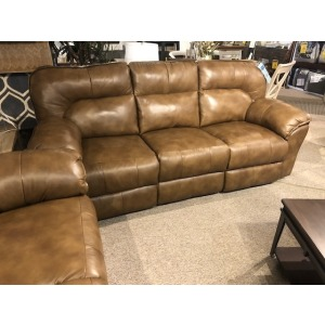 Full Ride Power Double Reclining Sofa w/Dropdown Table