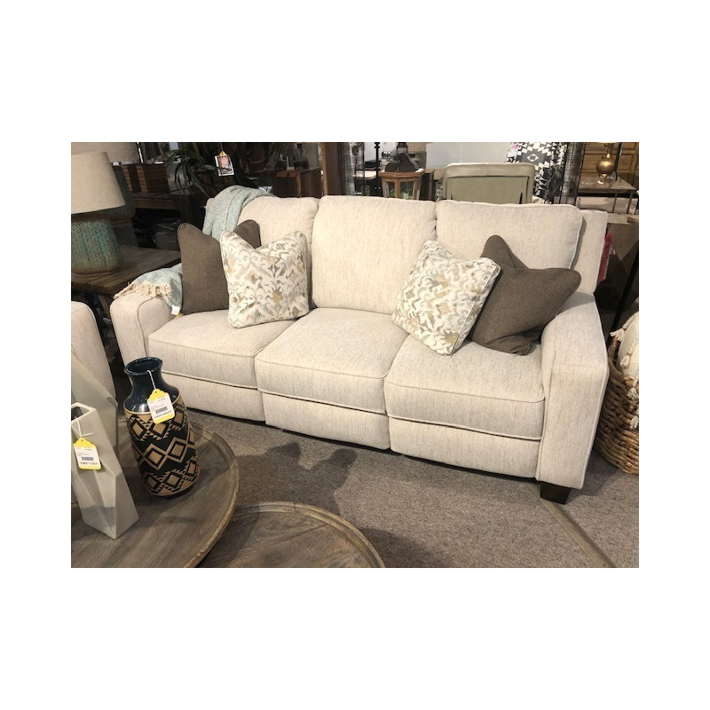 West End Double Reclining Power Headrest Sofa wit