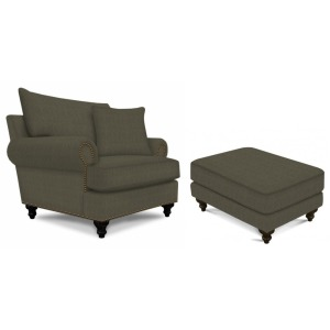 TCU 4Y04/7 Chair & Ottoman