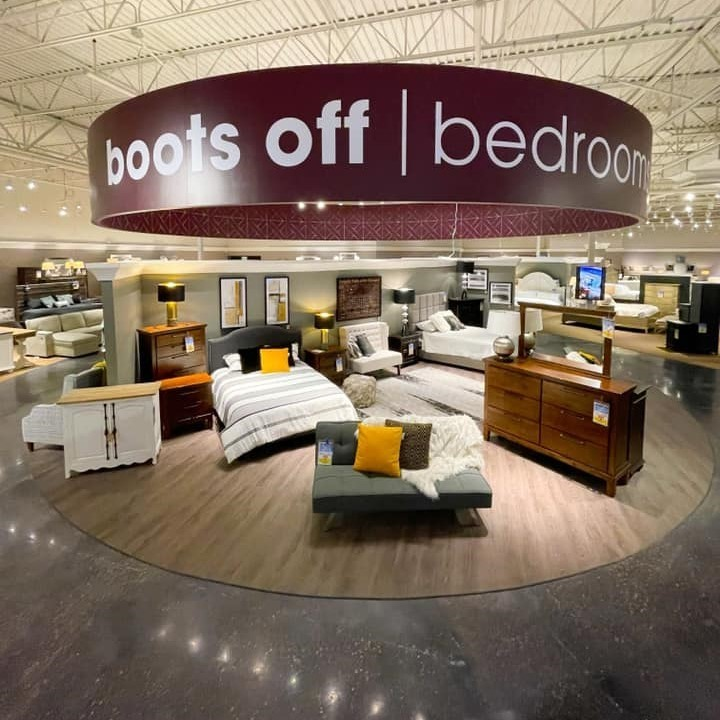 boots off bedrooms