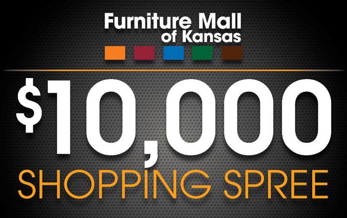 Furniture Mall of Kansas $10,000 Shopping Spree