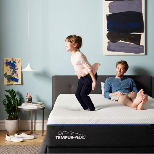 Tempur-Pedic Jumping off the Bed