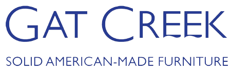 Gat Creek Solid American-Made Furniture