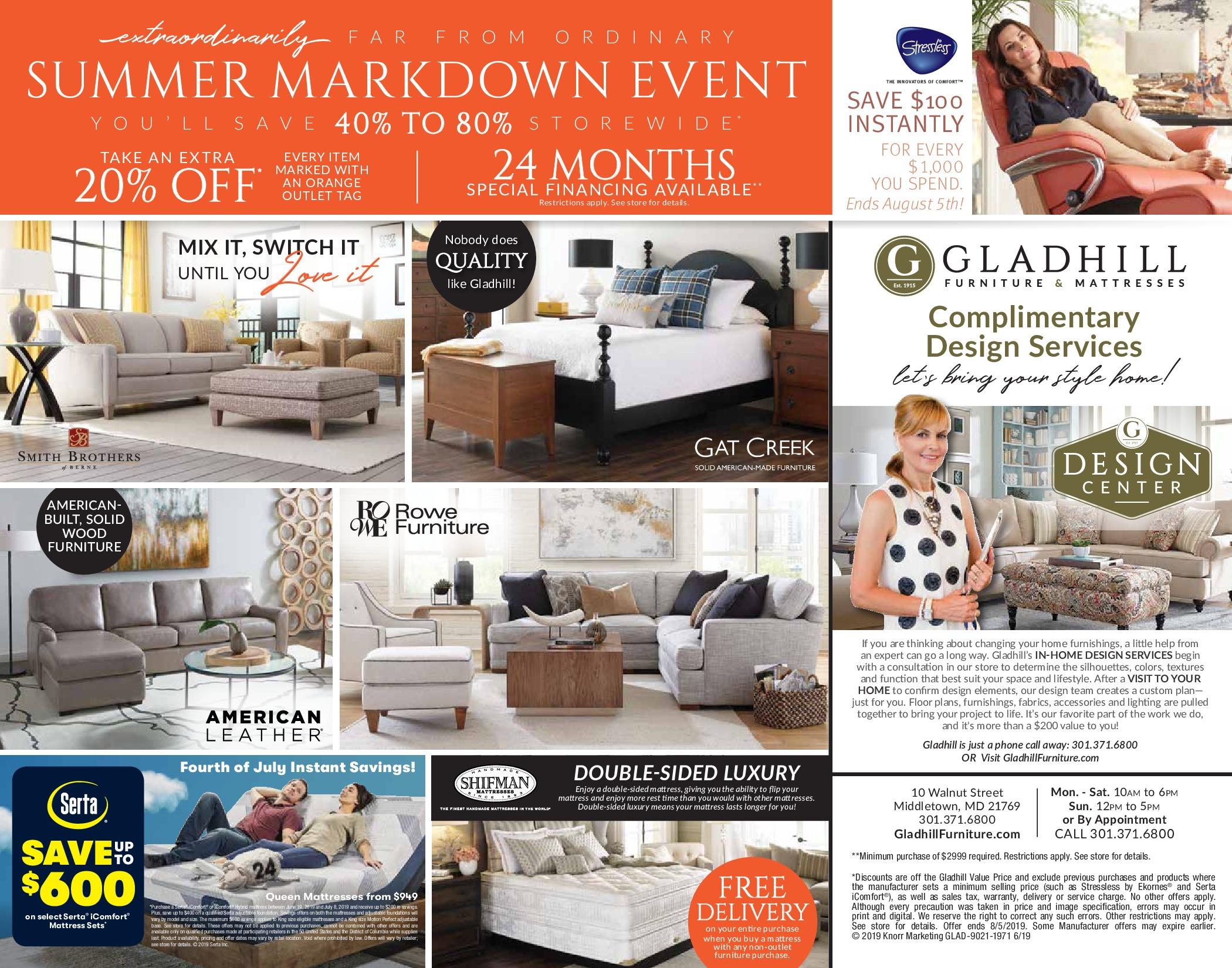 GLAD-9021-1971-SummerMarkdowns-Specials Page