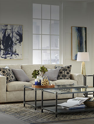 TRENDING <br>LIVING ROOMS