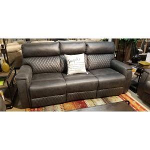 High Rise Power Double Reclining Sofa