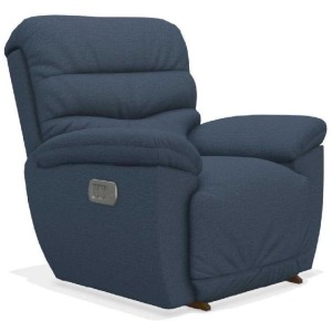 Joshua Power Rocking Recliner w/ Head Rest, Lumbar, & Wireless Remote