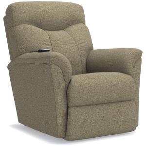 Fortune Power Rocking Recliner w/Headrest & Lumbar