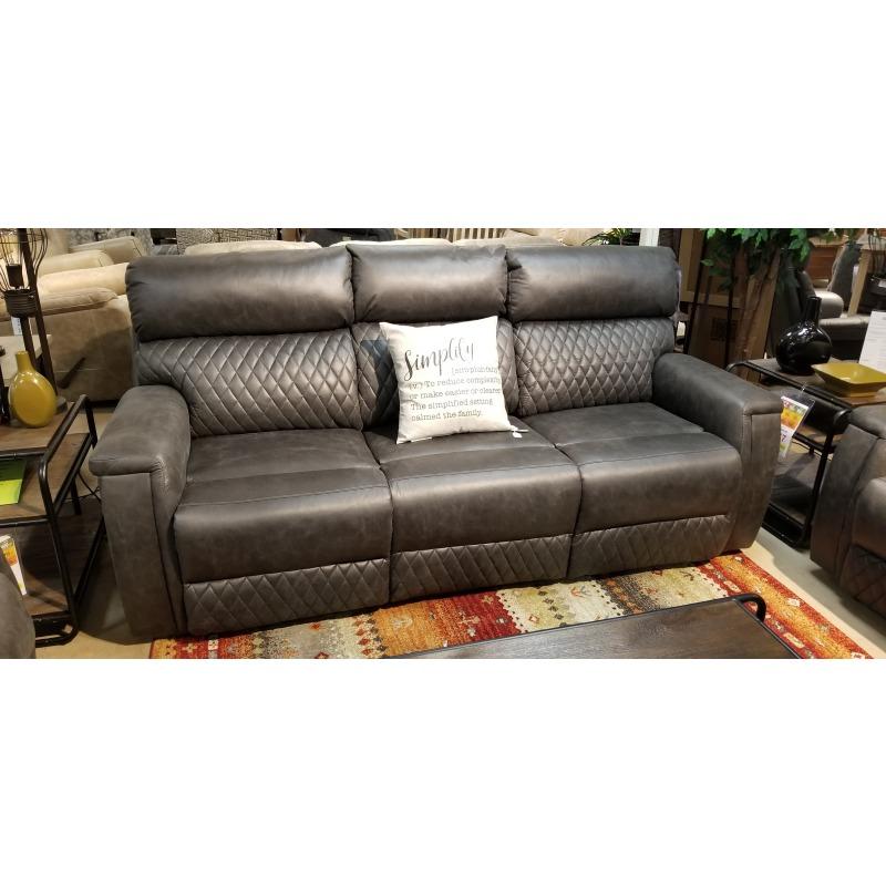 High Rise Power Double Reclining Sofa