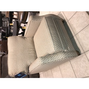 Lennox Fabric Chair with Scalloped Arms