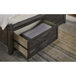 Charcoal Queen Bed