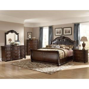 Rich Cherry 3 Piece Bedroom Set