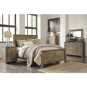 Trinell 3 PC King Panel Bedroom Set