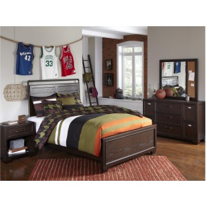 Clubhouse 3 Piece Full Bedroom Set