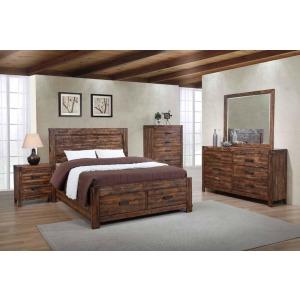 Chestnut 3 Piece Queen Bedroom Set