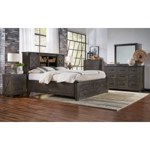Charcoal 3 Piece Queen Bedroom Set