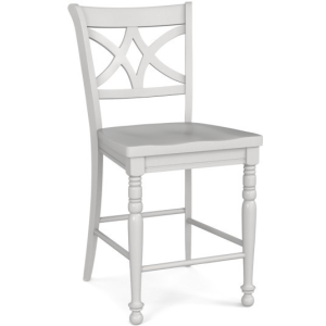 Custom Dining Counter Stool - Diamond Back