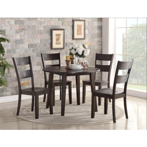 3 Piece Drop Leaf Table and Chairs
