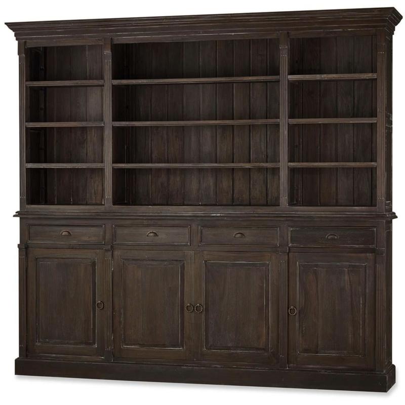 Hudson Open Bookcase
