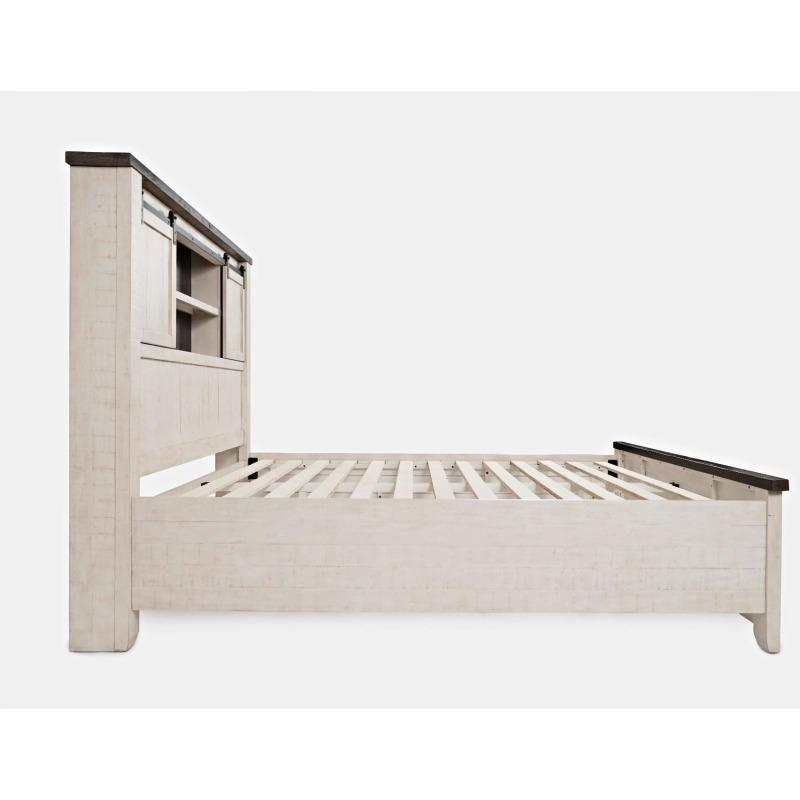 Madison County Queen Barn Door Bed