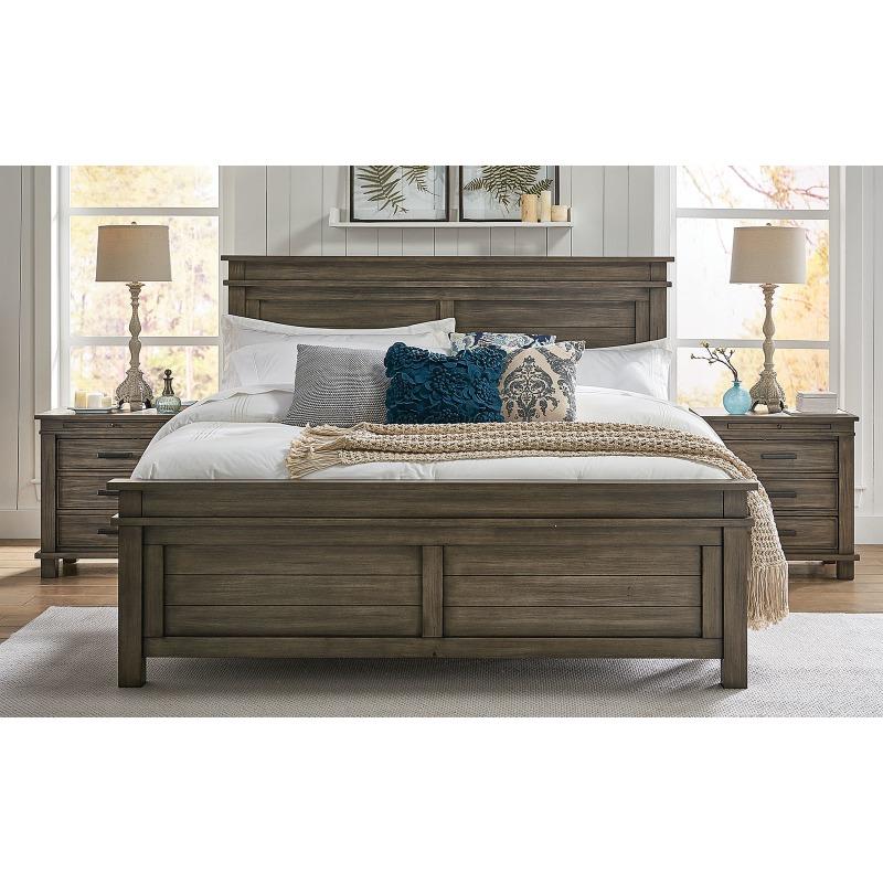 Greystone Queen Panel Bed