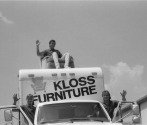 Kloss Furniture Delivery Truck