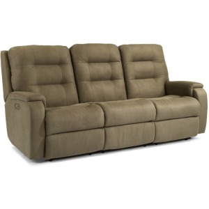 Arlo Power Reclining Sofa w/Power Headrests & Lumbar