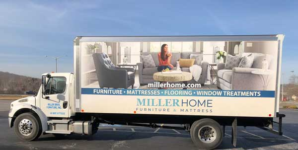 MillerHome Delivery Truck