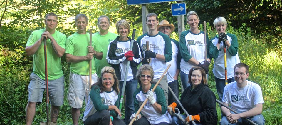 Miller Home Volunteers