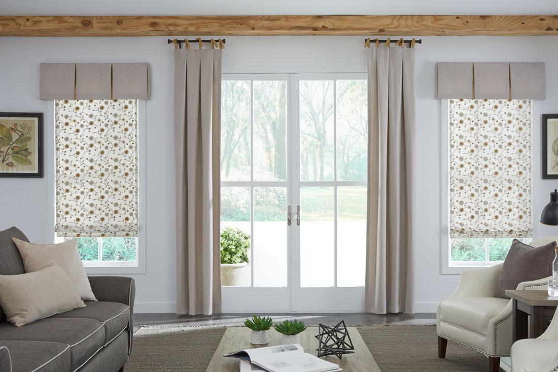 Lafayette Window Coverings Living Room