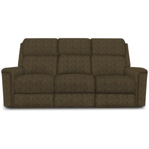 Double Reclining Sofa with Nails