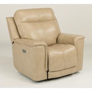 Miller Leather Power Recliner w/Power Headrests