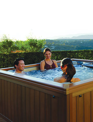 HOT TUBS <span>Live Better, Relax Better.</span>