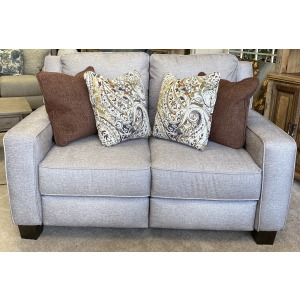West End Power Headrest Hi-Leg Loveseat