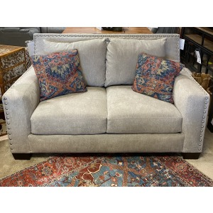 Luckenbach Loveseat with Nails