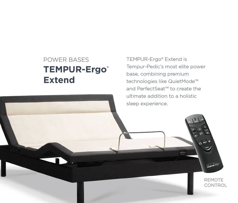 TEMPUR-Ergo® Extend Specs