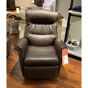 3 Moter Leather Med Recliner