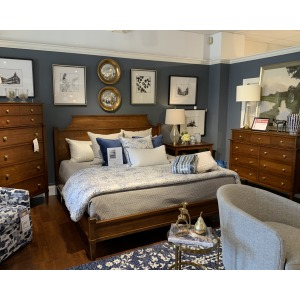 KING BED, DRESSER, CHEST, NT