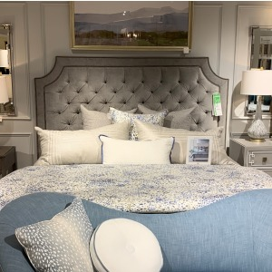 Tufted King Bed