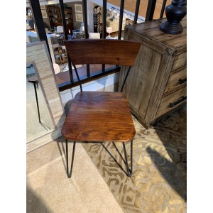 DINING CHAIR/WOOD SEAT