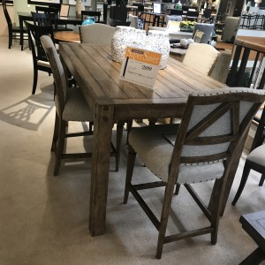 Bar Table & 4 Stools