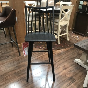 Black Oak Bar Stool