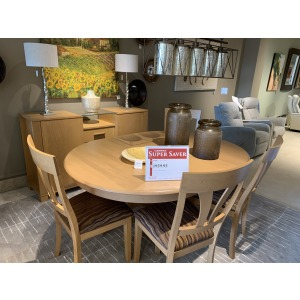 TABLE 4 CHAIRS & BUFFET PKG