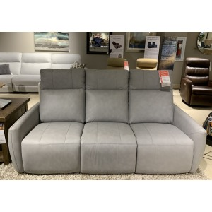 RECLINING SOFA W/PWR HEADREST