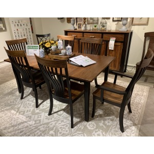 TABLE 4 SIDE & 2 ARM CHAIR PKG