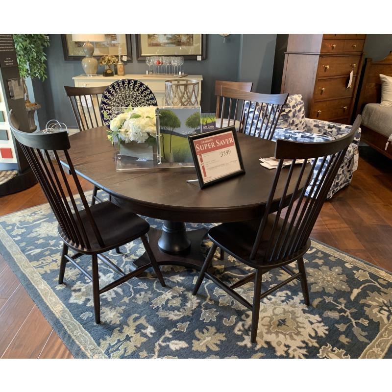 TABLE & 4 CHAIR PKG