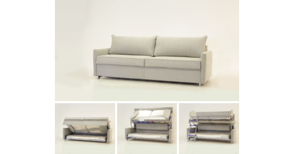 Luonto Functional Furniture | Sleeper Sofa to Bun