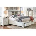 Sun Valley Queen Storage Bed W/foottboard Bench